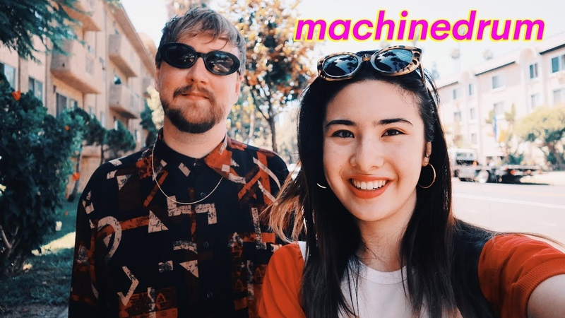 MACHINEDRUM Interview- depression, meditation, concieved at music festival