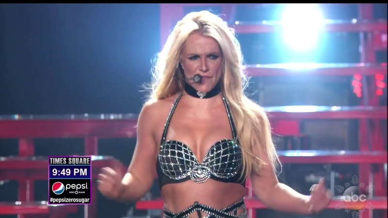 Britney Spears - Work Bitch (Live at Dick Clarks New Years Rockin Eve With Ryan Seacrest 2018)
