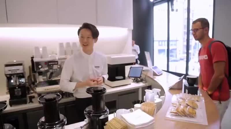 Японцы делают оригинальное кофе! Как вам
