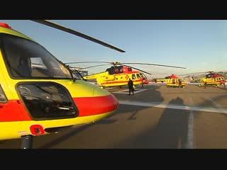 На службу поступила первая партия российских вертолетов с медицинским модулем