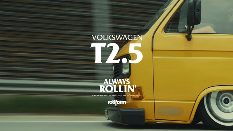 Joe and Kaggy VW T25   Always Rollin' - Wörthersee 2018 S.6
