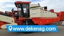 China DEKEN wheat combine harvester