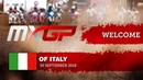 Welcome to the 2018 MXGP of Italy motocross