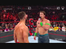 John Cena believe Finn on RAaw