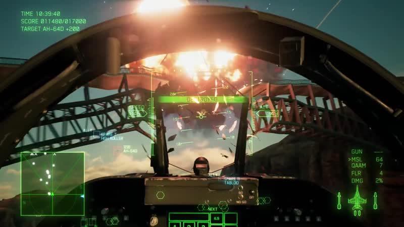 Геймплей Ace Combat 7.