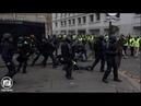 Acte 2 des Gilets Jaunes à Paris barricades sur les Champs Elysées 24 novembre 2018