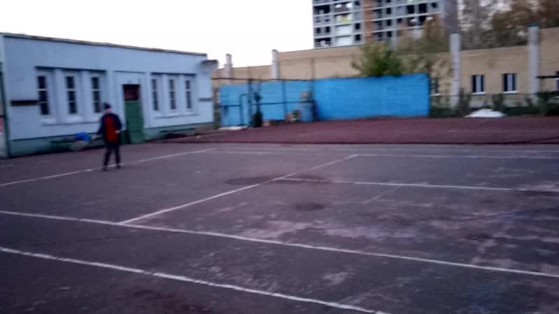 Никита и Ваня матч в Парке Победы mp4