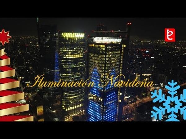 Mexico I Navidad en la Torre BBVA Bancomer, CDMX, Diciembre 2018