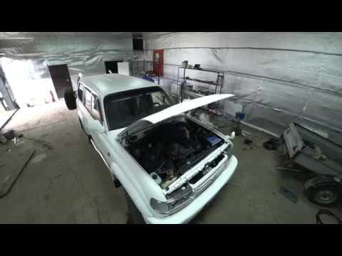 Демонтаж старого, установка нового ГБО на Toyota Land Cruser 80