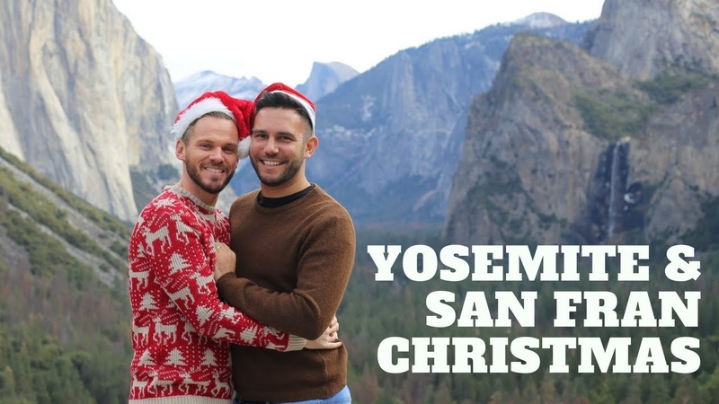 Christmas in Yosemite and San Francisco Travel Vlog | The Travelling Gays