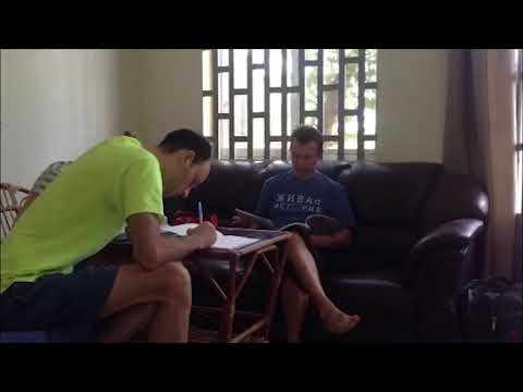 Обучение кхмерскому языку, начало нашей учёбы.