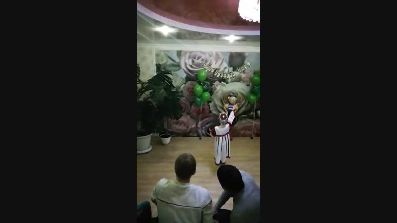 Сюрприз 2. Марийский танец от Кариночки для дяди Тимуру.❤❤💋