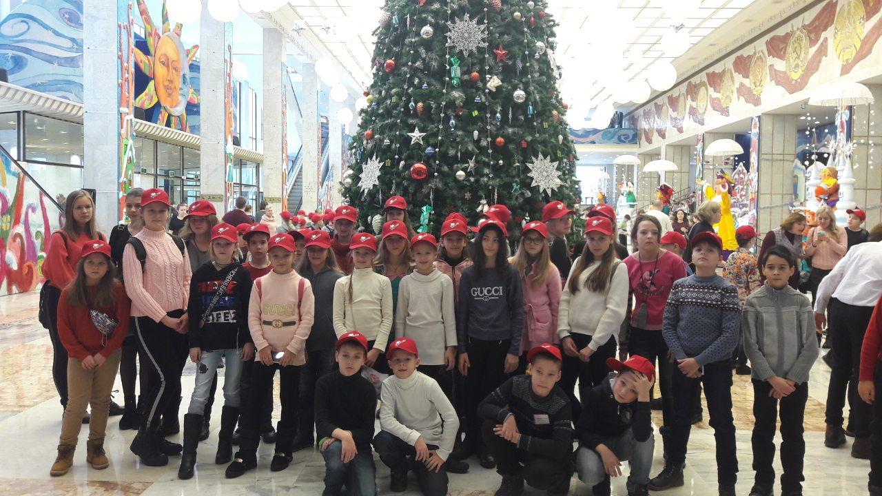 Юные дончане провели новогодние праздники в Москве