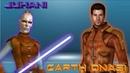 Carth Onasi and Juhani Incoming star wars galaxy of heroes swgoh