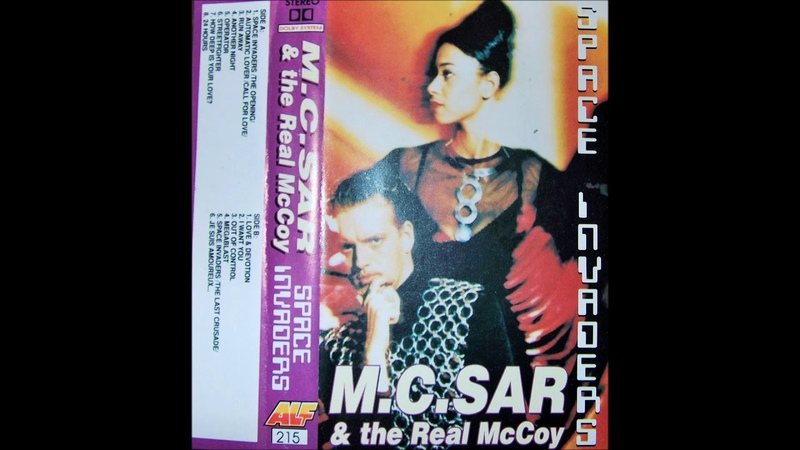 M.C. SAR the Real McCoy - Space Invaders - Music Cassette Album