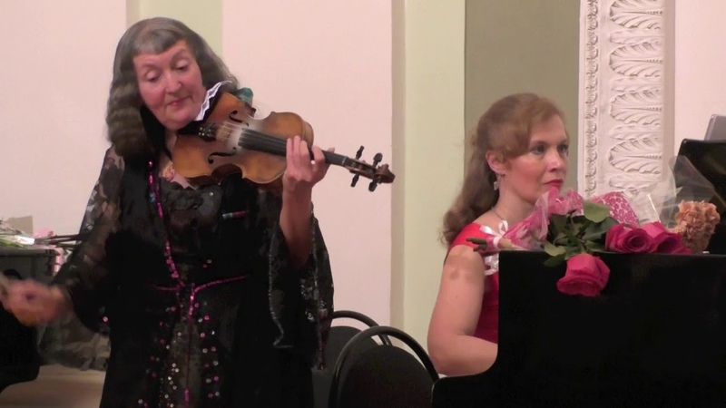 Сен-Санс, Вилла-Лобос, Алябьев - Вьетан, Динику (Violin Piano)