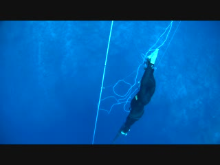 Freediving 35m CWT