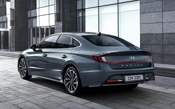 Hyundai показал новую Sonata.