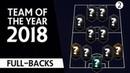 Команда года 2018 Фланговые защитники Выпуск 2