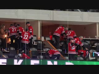 Hurricanes dads celebrate win with hide-and-seek