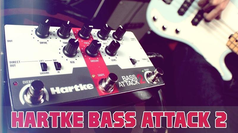 Hartke BA2 Bass Attack 2 preamp overdrive [FULL] (ITA)