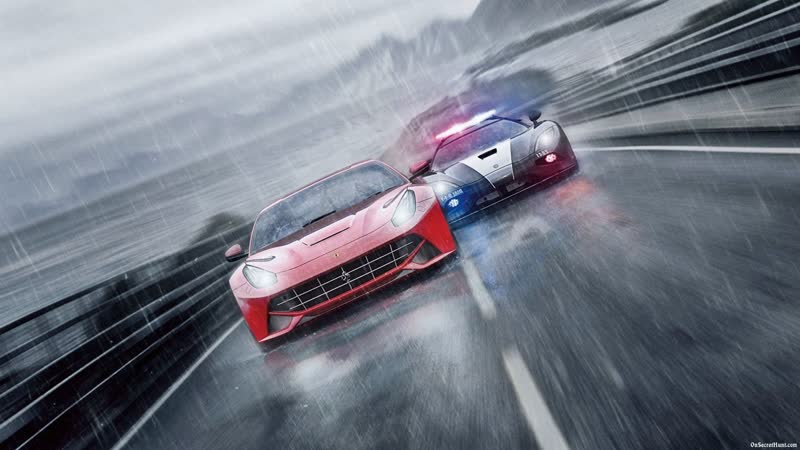 Racing in Need For Speed Rivals
