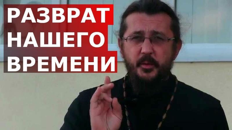 Развращение нашего времени. Священник Игорь Сильченков