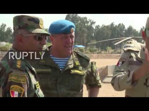 Egypt Joint Russia-Egypt 'Defender of Friendship 2018' drills underway