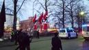 Vastarintaliikkeen marssi Kalliossa 6 12 2018 1 Nordic Resistance Movement March in Helsinki