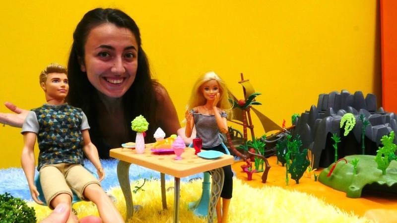 Barbie ve Sevcan Keni bulmak için ipuçları arıyor