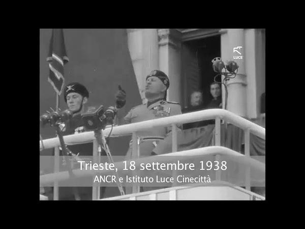 Mussolini a Trieste