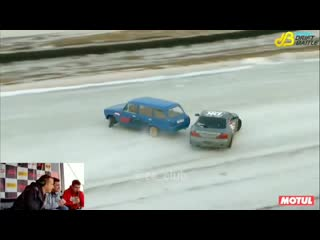 Лютый бэквард ваз 2102 vs Nissan Silvia S15