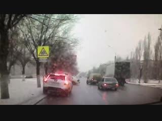 Момент аварии на проспекте Жукова