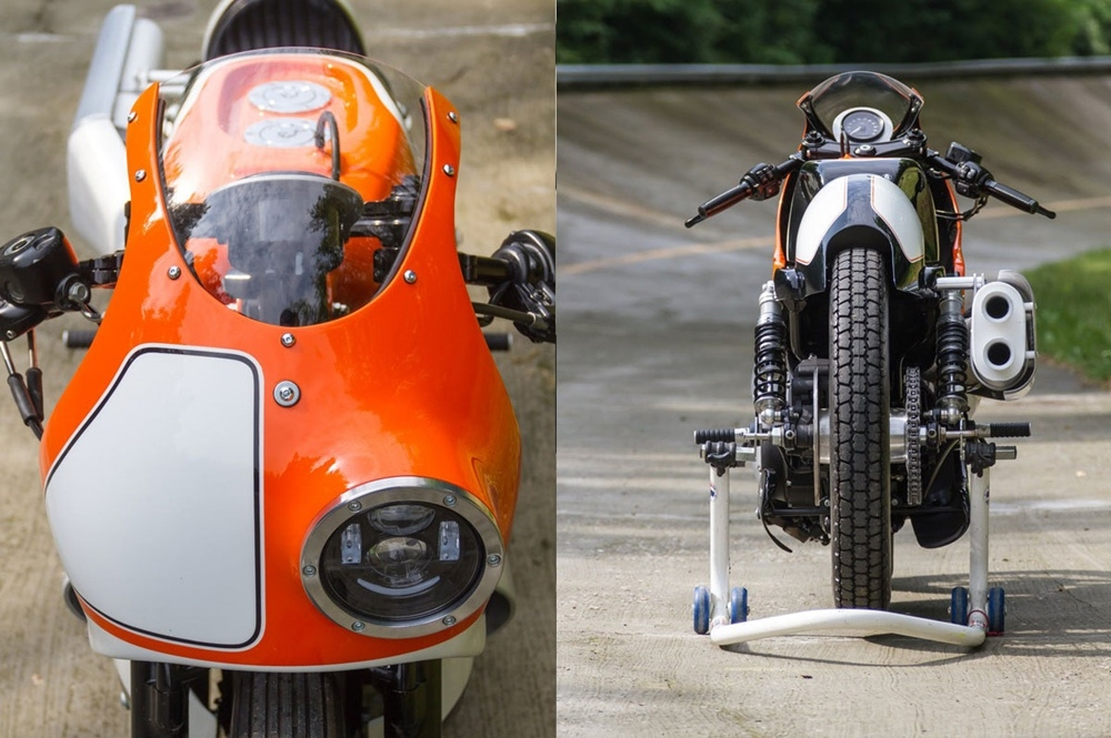Greaser Garage: кастом Harley Davidson Forty Eight Endurance Racer