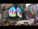 DragonBall Super Broly на Time Square
