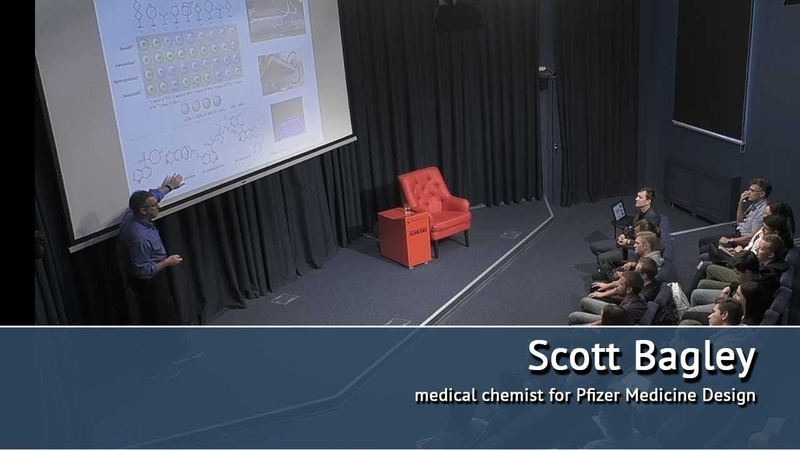 Parallel medicinal chemistry and new reaction development. Scott Bagley lection
