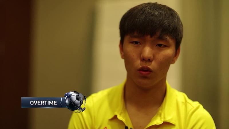 OVERTIME_QAZ Первое интервью южнокорейского футболиста Хан Чжон Ву сюжет программы канала Хабар24