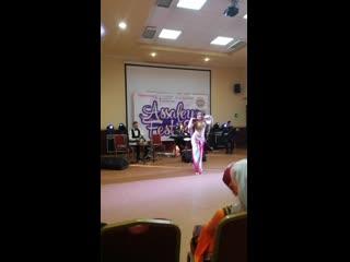 Литвинова Ольга и ансамбль Khayam. Akdeb Alek Школа Восточного танца Бисер