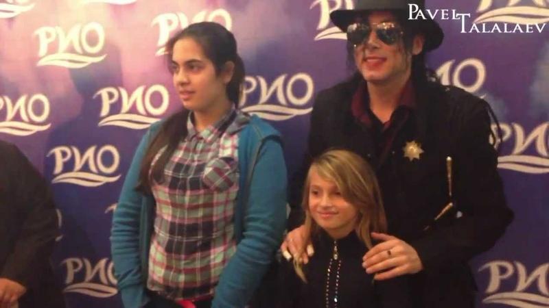 Michael Jackson Impersonator Pavel Talalaev ТРЦ РИО Ленинский after show
