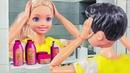 ПОМЕНЯЛИСЬ МЕСТАМИ! Мультик куклы Барби про школу.