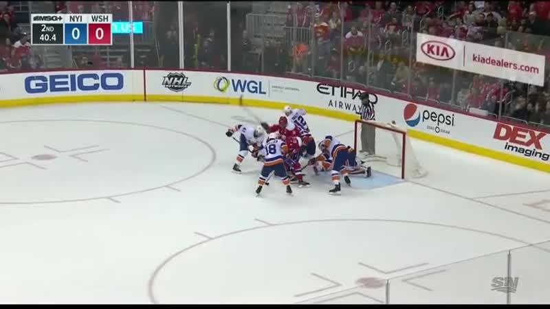 NHL Highlights Islanders vs. Capitals - Jan. 18, 2019