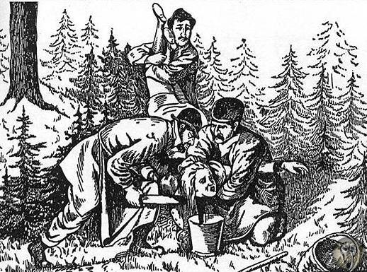 Ритуальные издевательства