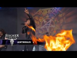 Anthrax - Fight Em Til You Cant (2013) (Official Live Video)