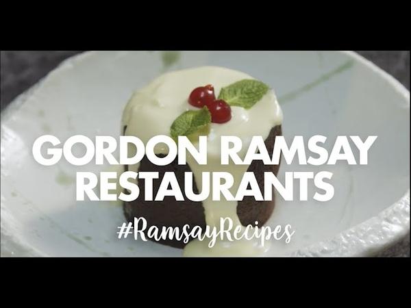 Festive Chocolate Fondant Recipe | Christmas | Gordon Ramsay