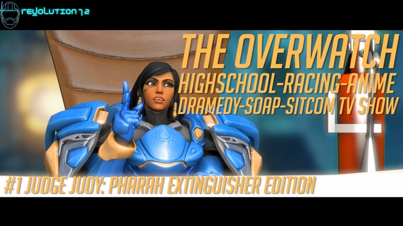[Overwatch SFM] The Overwatch HRADSS TV Show! 1 Judge Judy Pharah Extinguisher Edition