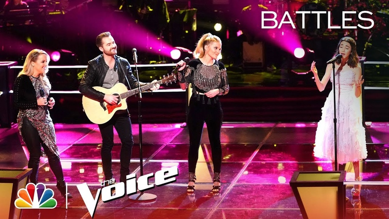 Mikaela Astel and The Bundys Battle to Songbird The Voice Battles 2019