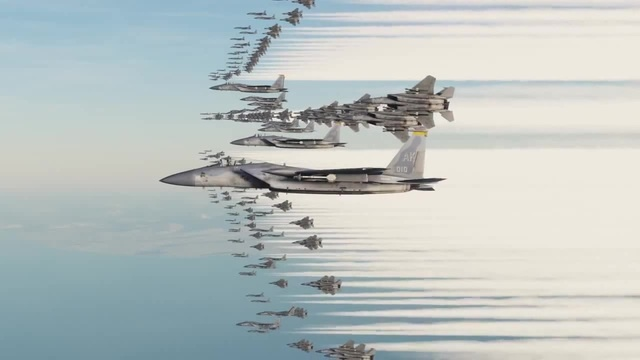 When Gamers Get Bored - 500 Aircraft Dogfight