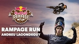Fast, Loose, and F'in FAST | Andreu Lacondeguy 2nd place run at Red Bull Rampage 2018