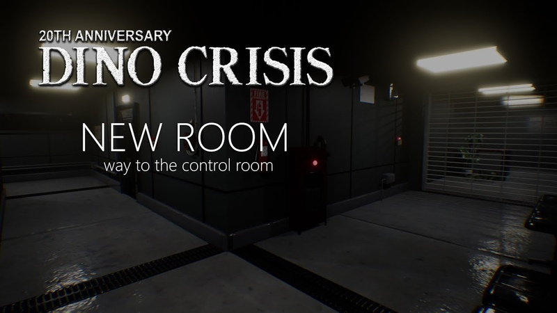 Dino Crisis Fan Made Proyect 2019 New Rooms Way to the control room