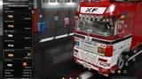 ETS2Euro Truck Simulator 2 DAF XF 105 by vad&ampk v 6.1 Tandem + Trailer